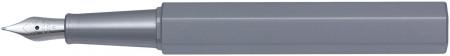 Worther Compact Fountain Pen - Aluminium