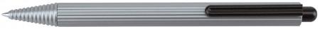 Worther Profil Ballpoint Pen - Grey Aluminium
