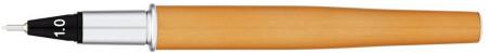 Yookers Yooth 751 Refillable Fineliner Pen - Light Orange Chrome Trim