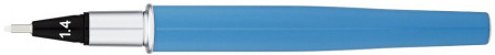 Yookers Yooth 751 Refillable Fineliner Pen - Maya Blue Chrome Trim