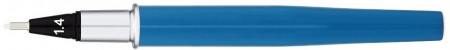 Yookers Yooth 751 Refillable Fineliner Pen - Steel Blue Chrome Trim