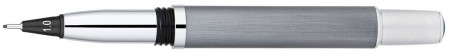 Yookers Metis 999 Refillable Fineliner Pen - Brushed Grey Satin Chrome