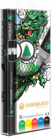 Chameleon Blendable Marker Pens - Primary Tones (Pack of 5)