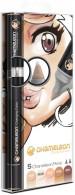 Chameleon Blendable Marker Pens - Skin Tones (Pack of 5)