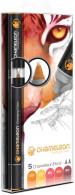 Chameleon Blendable Marker Pens - Warm Tones (Pack of 5)
