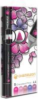 Chameleon Blendable Marker Pens - Floral Tones (Pack of 5)