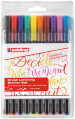 Edding 1340 Fibre Tip Pen - Assorted Colours (Wallet of 10)