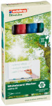 Edding 28 EcoLine Whiteboard Markers - Assorted Colours (Pack of 4)