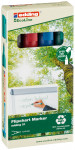 Edding 31 EcoLine Flipchart Markers - Assorted Colours (Pack of 4)