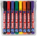 Edding 360 Whiteboard Markers - Assorted Colours (Wallet of 8)