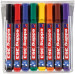 Edding 363 Whiteboard Markers - Assorted Colours (Wallet of 8)