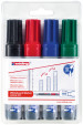 Edding 365 Whiteboard Markers - Assorted Colours (Wallet of 4)