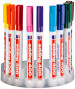 Edding 400 Permanent Markers - Assorted Colours (Marker System of 10)
