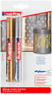 Edding 750 Gloss Paint Markers - Gold & Silver (Blister of 2)