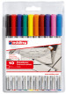 Edding 89 Office Liners - Assorted Colours (Wallet of 10)