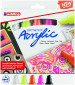 Edding 5000 Acrylic Paint Markers - Chisel Tip - Broad - Neon Colours (Pack of 5)