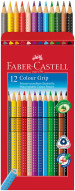 Faber-Castell Colour Grip Pencils - Assorted Colours (Pack of 12) - Picture 1