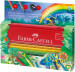 Faber-Castell Colour Grip Pencils - Jungle Gift Set with Pencil Case