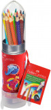 Faber-Castell Colour Grip Pencils - Rocket Gift Set