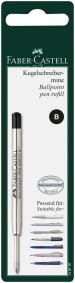 Faber-Castell Ballpoint Refill - Broad - Black (Blister Pack)