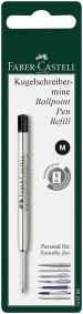 Faber-Castell Ballpoint Refill - Medium - Black (Blister Pack)