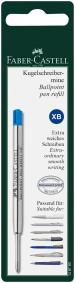 Faber-Castell Ballpoint Refill - Extra Broad - Blue (Blister Pack)