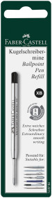 Faber-Castell Ballpoint Refill - Extra Broad - Black (Blister Pack)