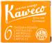 Kaweco Ink Cartridges - Sunrise Orange (Pack of 6)