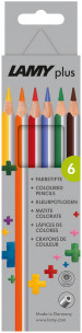 Lamy Plus Colouring Pencils - Assorted Colours (Pack of 6)