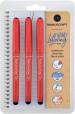 Manuscript Handwriting Pens - Black (Triple Pack)