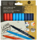 Manuscript Handwriting Pens - Assorted Tip Types (Pack of 12)