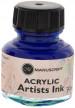 Manuscript Dip Pen Acrylic Ink - 30ml - Ocean Blue