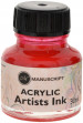 Manuscript Dip Pen Acrylic Ink - 30ml - Pink