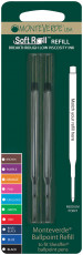 Monteverde Soft Ballpoint Refill To Fit Sheaffer - Blue/Black