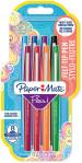 Papermate Flair Original Fibre Tip Pen - Medium - Assorted Colours (Pack of 8)
