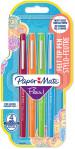 Papermate Flair Original Fibre Tip Pen - Medium - Fun (Pack of 4)