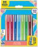 Papermate Flair Original Fibre Tip Pen - Medium - Easel Colours (Pack of 10)