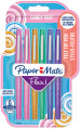 Papermate Flair Original Fibre Tip Pen - Medium - Candy Colours (Pack of 6)