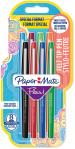 Papermate Flair Original Fibre Tip Pen - Medium - Standard Colours (Pack of 8)