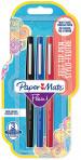 Papermate Flair Original Fibre Tip Pen - Medium - Standard Colours (Pack of 3)