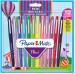 Papermate Flair Original Fibre Tip Pen - Medium - Carnival Colours (Pack of 12)