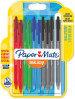 Papermate Inkjoy 100 Retractable Ballpoint Pen - Medium - Standard Colours (Blister of 10)