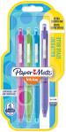 Papermate Inkjoy 300 Retractable Ballpoint Pen - Medium - Fun Colours (Blister of 4)