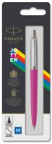 Parker Jotter Original Ballpoint Pen - Pink Chrome Trim - Picture 3