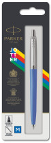 Parker Jotter Original Ballpoint Pen - Blue Chrome Trim - Picture 3