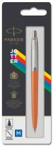 Parker Jotter Original Ballpoint Pen - Orange Chrome Trim - Picture 3