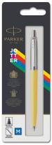 Parker Jotter Original Ballpoint Pen - Yellow Chrome Trim - Picture 3