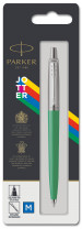 Parker Jotter Original Ballpoint Pen - Green Chrome Trim - Picture 3
