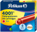 Pelikan 4001 Ink Cartridge - Brilliant Red (Pack of 6)