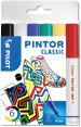 Pilot Pintor Marker Pen - Fine Bullet Tip - Classic Colours (Pack of 6)